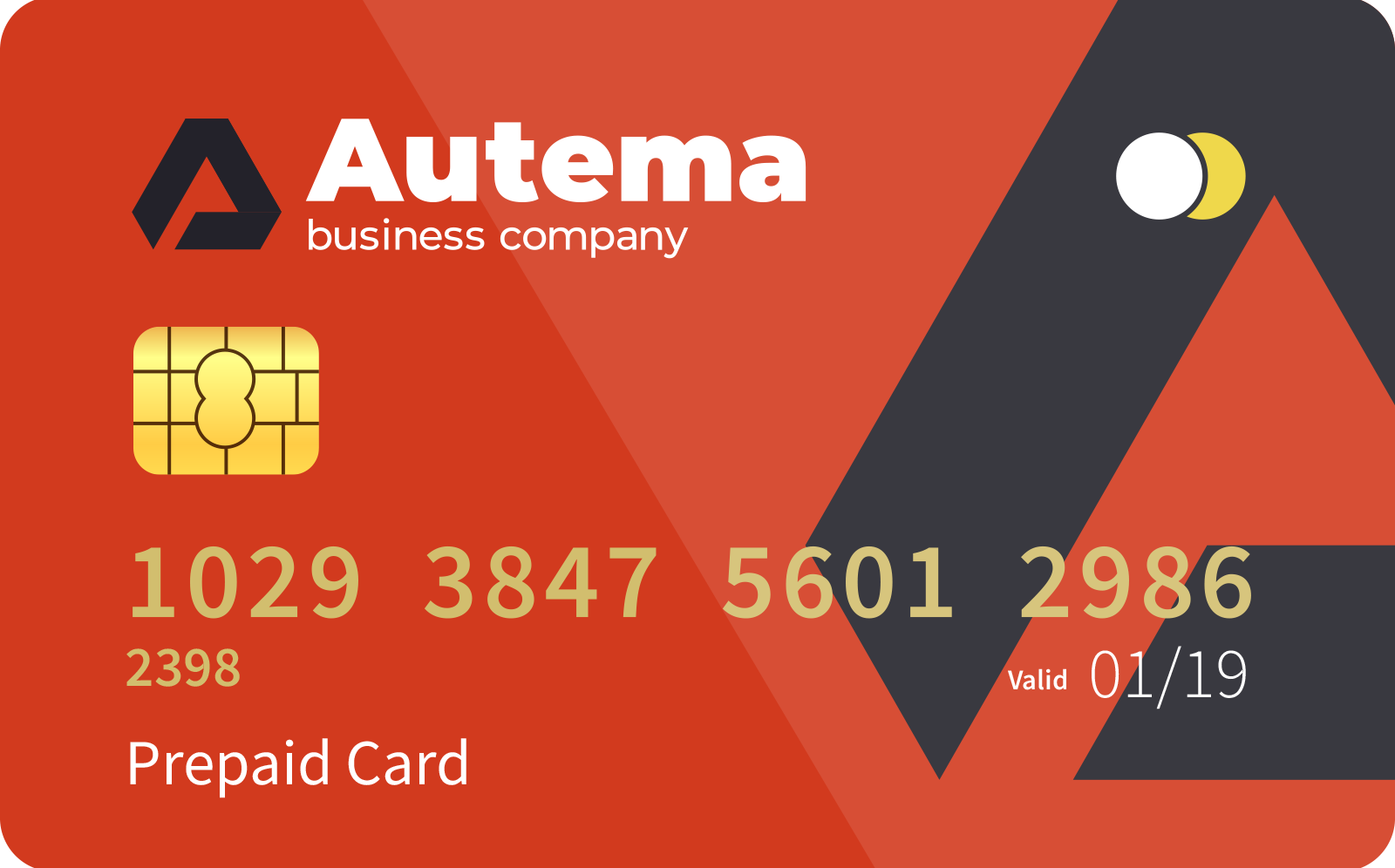 <span> Prepaid </span> card